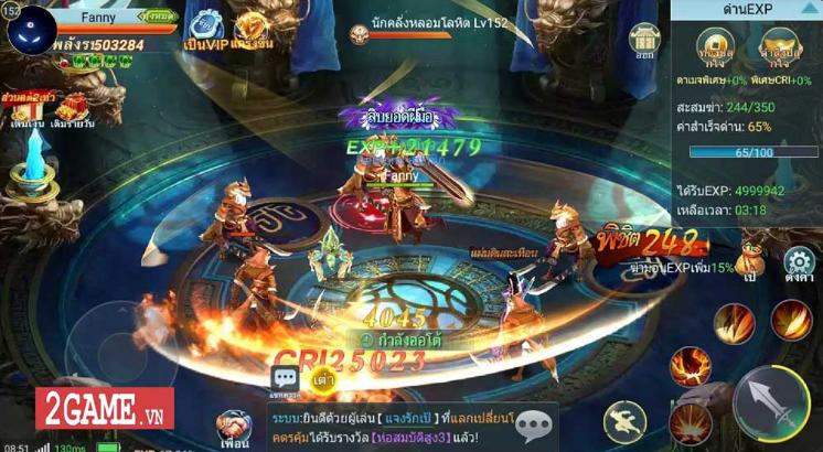 Game mobile Long Chiến Thương Khung