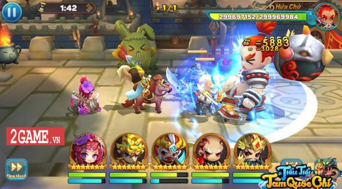 Game mobile Tiểu Tam Quốc chí