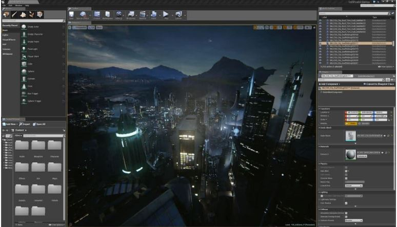 Unreal Engine.