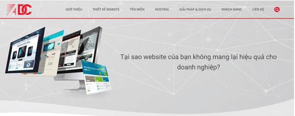 ADC - Công ty thiết kế web uy tín
