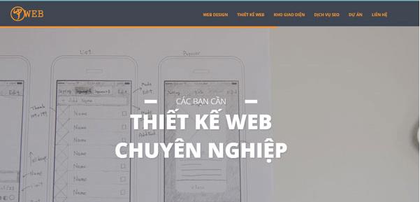 Công ty thiết kế web uy tín JPWEB