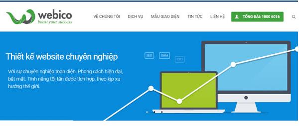 Công ty thiết kế web chuyên nghiệp WEBICO