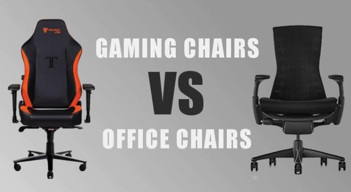 Ghế chơi game và ghế văn phòng