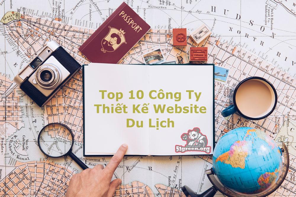 Top 10 công ty thiết kế website du lịch.