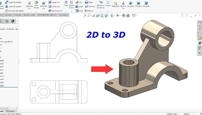 Lợi ích khi sử dụng phần mềm vẽ 3D, thiết kế đồ họa 3D