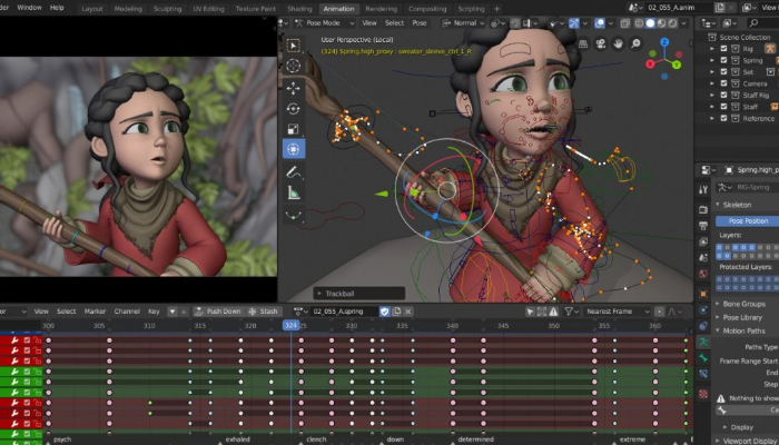 Blender - Phần mềm thiết kế đồ họa miễn phí