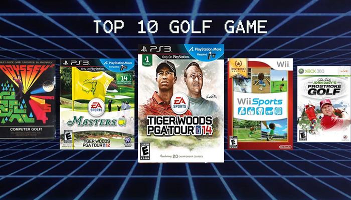 Top 10 game đánh golf hấp dẫn mà golfer không thể bỏ qua