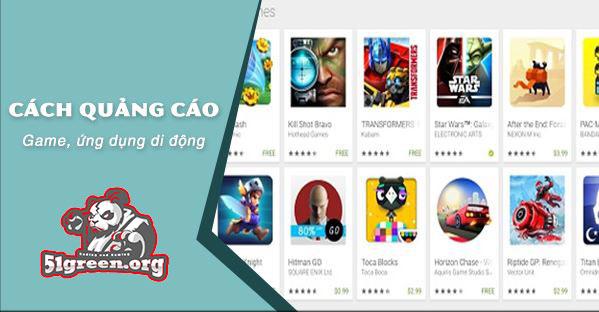 8 cách để quảng cáo app game mobile